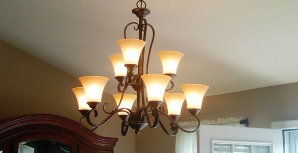 Chandelier installation buffalo on call electrical many years ago the only chandeliers you could get were the traditional types that are usually ornate in appearance mozeypictures Choice Image
